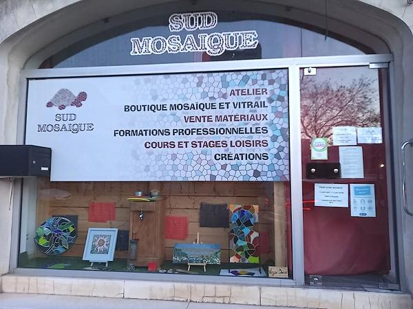 Vitrine Sud Mosaique